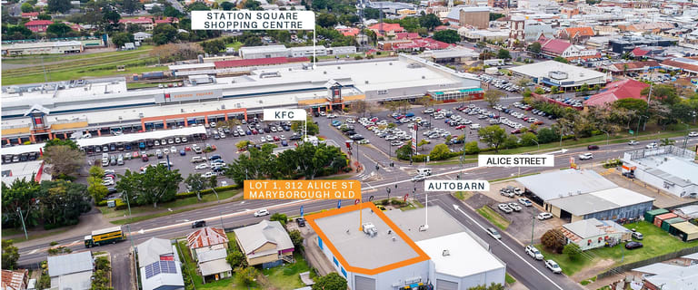 Shop & Retail commercial property for sale at 1/312 Alice Street Maryborough QLD 4650