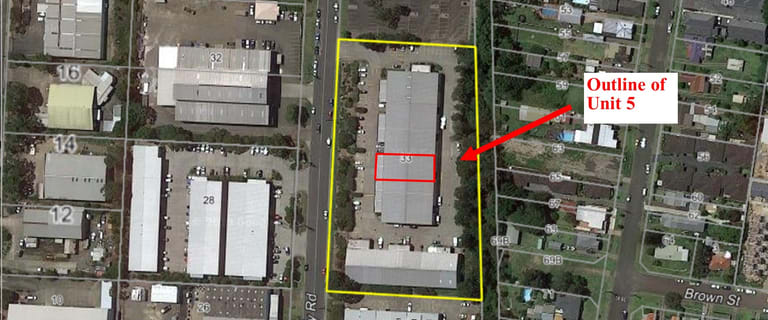 Factory, Warehouse & Industrial commercial property for sale at Unit 5/33- 37 Pendlebury Road Cardiff NSW 2285