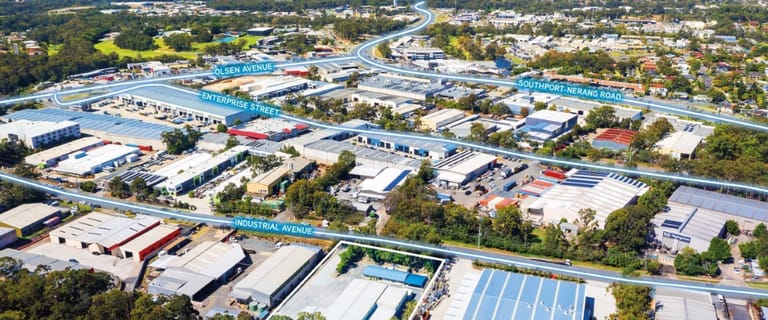 Factory, Warehouse & Industrial commercial property sold at 10A Industrial Avenue Molendinar QLD 4214