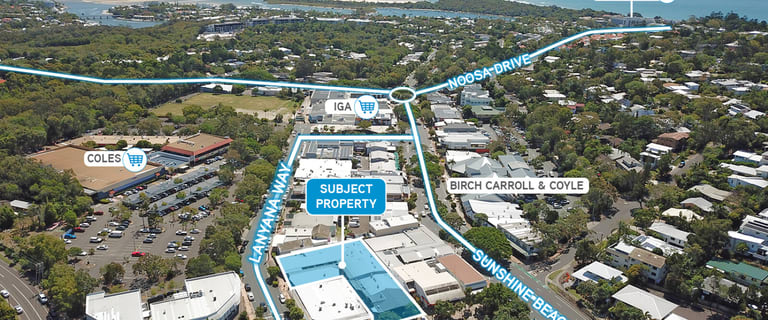 Offices commercial property for sale at 6 Lanyana Way Noosa Heads QLD 4567