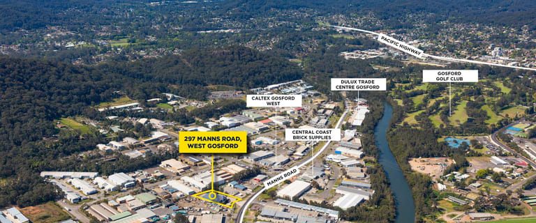 Factory, Warehouse & Industrial commercial property for sale at 297 Manns Road West Gosford NSW 2250