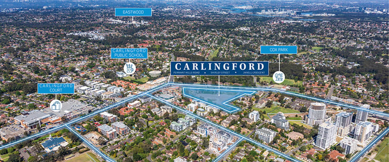 Development / Land commercial property for sale at 263-273 & 277-281 Pennant Hills Road Carlingford NSW 2118