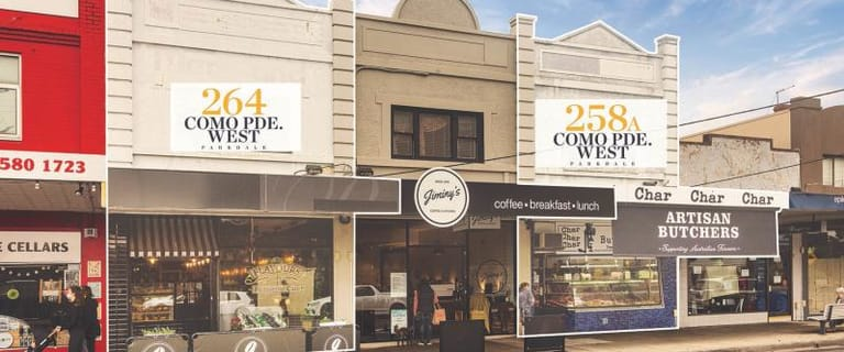 Shop & Retail commercial property for sale at 258A & 264 Como Parade West Parkdale VIC 3195
