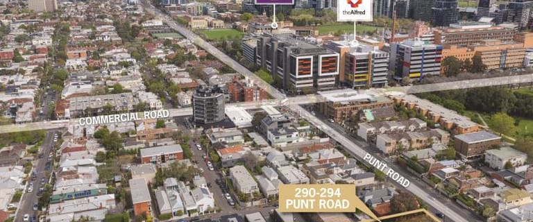 Development / Land commercial property for sale at 290-294 Punt Road South Yarra VIC 3141