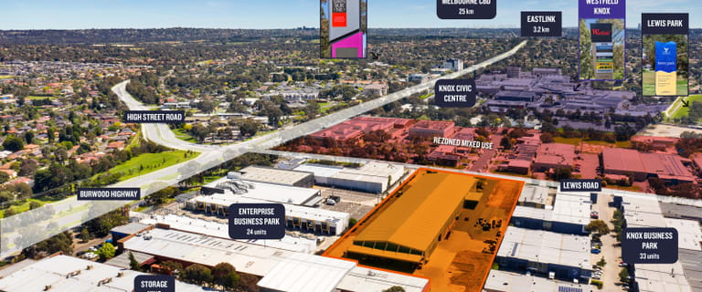 Offices commercial property for sale at 117-121 Lewis Road & 84 Parkhurst Drive Knoxfield VIC 3180