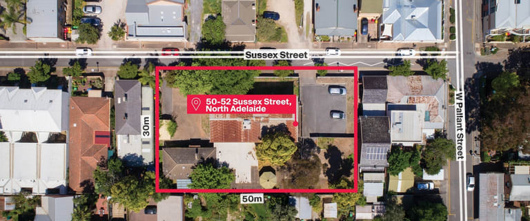 Development / Land commercial property for sale at 50-52 Sussex Street North Adelaide SA 5006