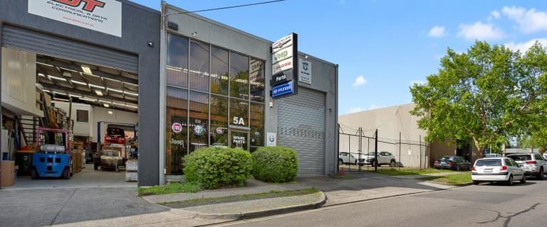 Factory, Warehouse & Industrial commercial property for sale at 5A Queen Street Nunawading VIC 3131