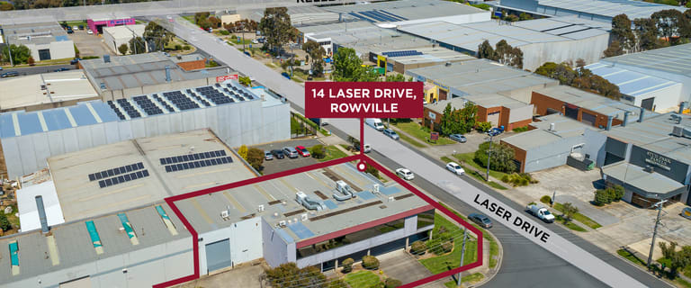 Factory, Warehouse & Industrial commercial property for sale at 14 Laser Drive Rowville VIC 3178