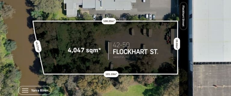Development / Land commercial property for sale at 42-50 Flockhart Street Abbotsford VIC 3067