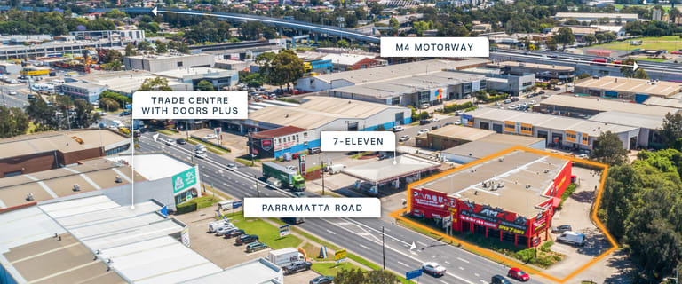 Shop & Retail commercial property for sale at 1 Parramatta Road Clyde NSW 2142