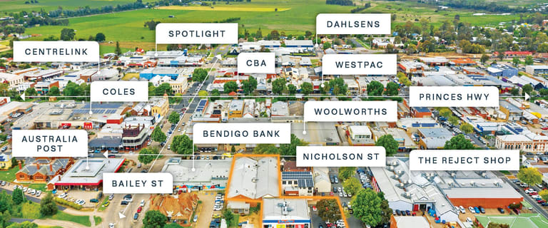 Shop & Retail commercial property for sale at 58-66 Nicholson Street (& Riverine Street) Bairnsdale VIC 3875
