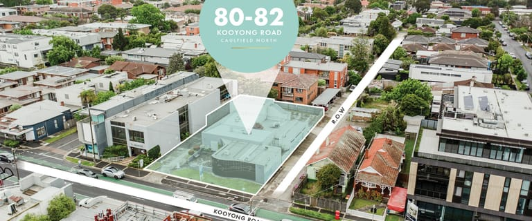 Offices commercial property for sale at 80-82 Kooyong Road Caulfield North VIC 3161
