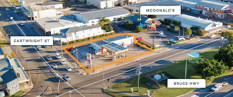 Development / Land commercial property for sale at 113 Cartwright Street (corner Bruce Highway) Ingham QLD 4850