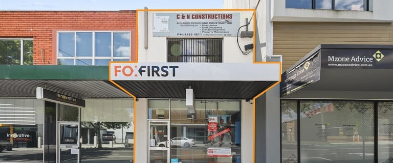 Shop & Retail commercial property sold at 101b Atherton  Road Oakleigh VIC 3166