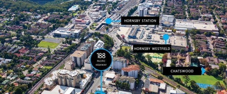 Development / Land commercial property for sale at 188 Pacific Highway Hornsby/188 Pacific Highway Hornsby NSW 2077