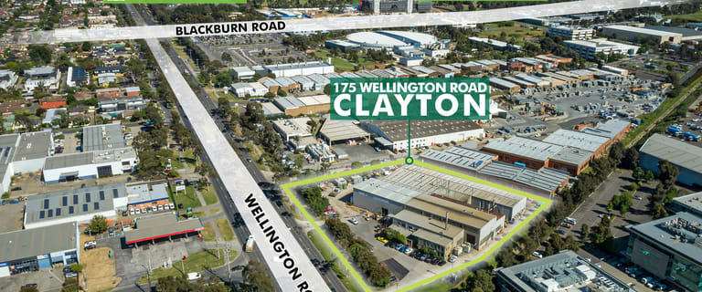 Factory, Warehouse & Industrial commercial property for sale at 175 Wellington Road Clayton VIC 3168