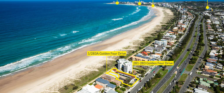 Hotel, Motel, Pub & Leisure commercial property for sale at 281-283 Golden Four Drive & 1/283A Golden Four Drive Bilinga QLD 4225
