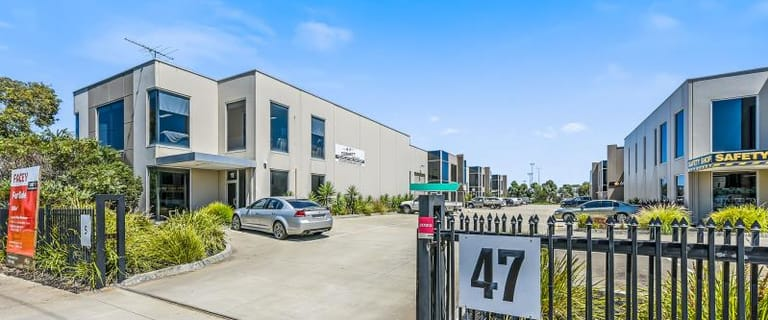 Factory, Warehouse & Industrial commercial property for sale at Unit 11/47-49 Frankston Gardens Drive Carrum Downs VIC 3201