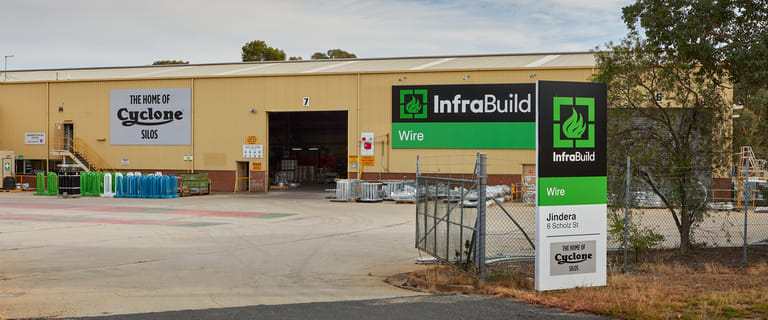 Factory, Warehouse & Industrial commercial property sold at 6 Scholz Street Jindera NSW 2642