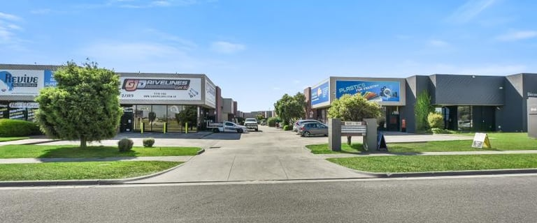 Factory, Warehouse & Industrial commercial property for sale at 4/189-191 Cheltenham Road Keysborough VIC 3173
