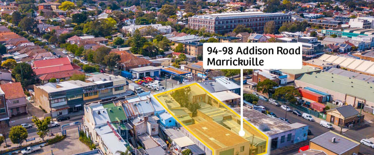 Development / Land commercial property for sale at 94-98 Addison Road Marrickville NSW 2204