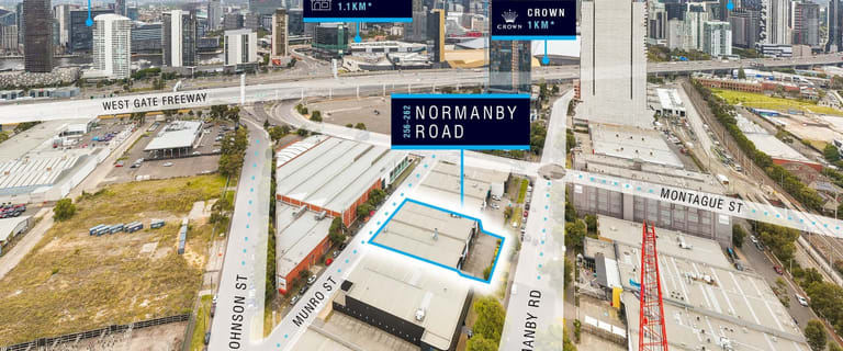 Development / Land commercial property for sale at 256-262 Normanby Road South Melbourne VIC 3205