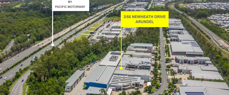 Showrooms / Bulky Goods commercial property for sale at 3/55 Newheath Drive Arundel QLD 4214