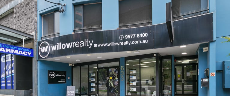 Medical / Consulting commercial property sold at 633 Princes Highway Rockdale NSW 2216