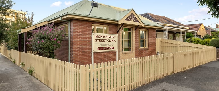 Medical / Consulting commercial property for sale at 318 Ascot Vale Road Moonee Ponds VIC 3039