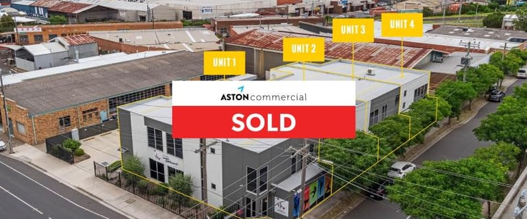 Factory, Warehouse & Industrial commercial property sold at 11-13 Milgate Street Oakleigh South VIC 3167