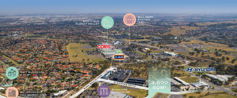 Development / Land commercial property for sale at 25 Oleander Drive Mill Park VIC 3082