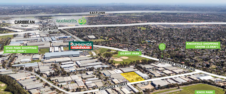 Factory, Warehouse & Industrial commercial property for sale at 26 Rushdale Street Knoxfield VIC 3180