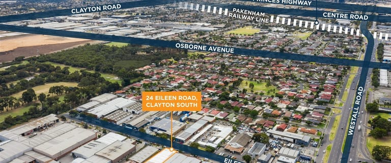 Factory, Warehouse & Industrial commercial property sold at 24 Eileen  Road Clayton South VIC 3169
