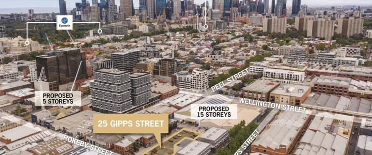 Development / Land commercial property for sale at 25 Gipps Street Collingwood VIC 3066