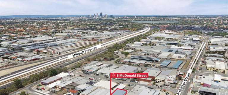 Factory, Warehouse & Industrial commercial property for sale at 8 McDonald Street West Osborne Park WA 6017
