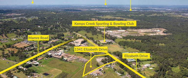 Development / Land commercial property for sale at 1341 Elizabeth Drive Kemps Creek NSW 2178