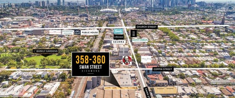 Showrooms / Bulky Goods commercial property for sale at 358-360 Swan Street Richmond VIC 3121