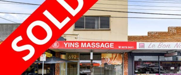 Development / Land commercial property sold at 692 Centre Road Bentleigh East VIC 3165