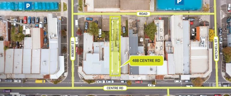 Shop & Retail commercial property for sale at 488 Centre Road Bentleigh VIC 3204