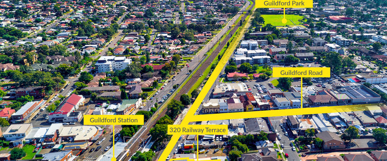 Shop & Retail commercial property for sale at 320 Railway Terrace Guildford NSW 2161