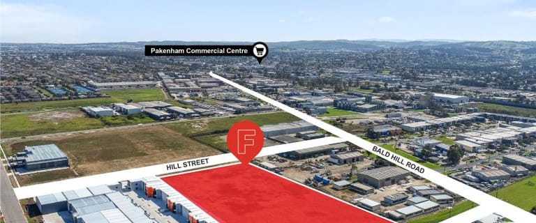Development / Land commercial property for sale at Lot 1/17 Hill Street Pakenham VIC 3810