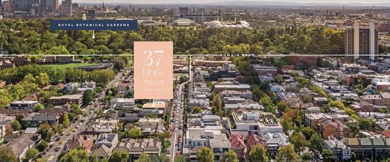Development / Land commercial property for sale at 37 Hope Street South Yarra VIC 3141