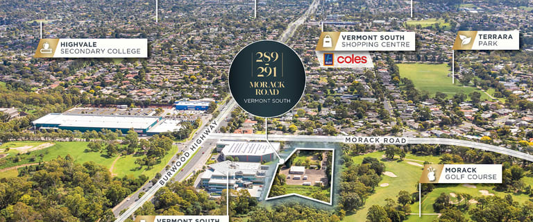 Development / Land commercial property for sale at 289-291 Morack Road Vermont South VIC 3133