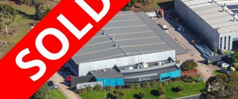 Factory, Warehouse & Industrial commercial property sold at 35-37 Lakeside Drive Broadmeadows VIC 3047