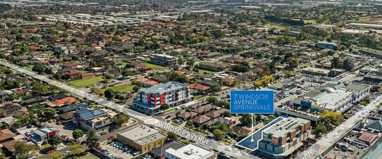 Development / Land commercial property for sale at 7 Windsor Avenue Springvale VIC 3171