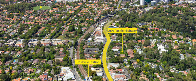 Development / Land commercial property for sale at 26A Pacific Highway Roseville NSW 2069