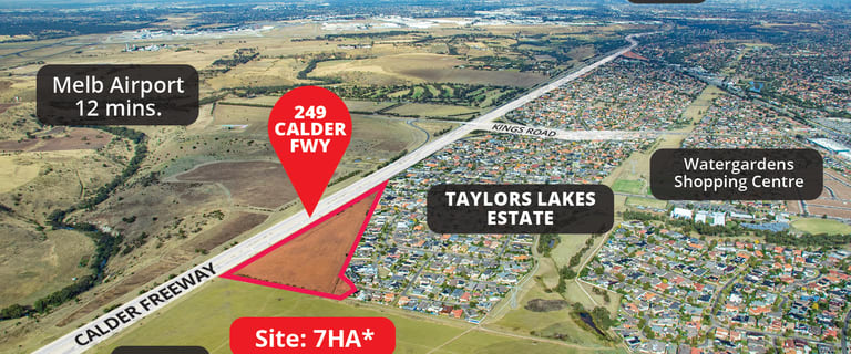 Development / Land commercial property for sale at 249 Calder Freeway Taylors Lakes VIC 3038