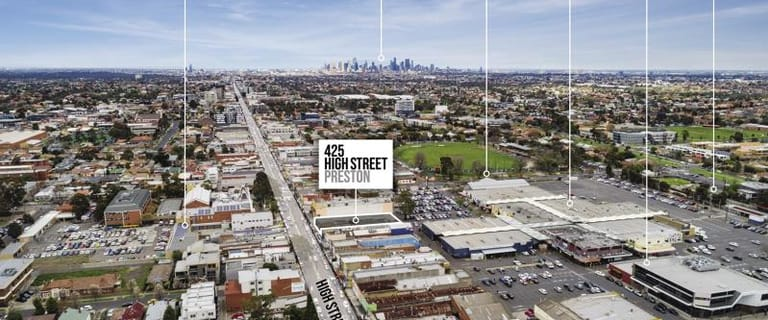 Shop & Retail commercial property for sale at 425 High Street Preston VIC 3072