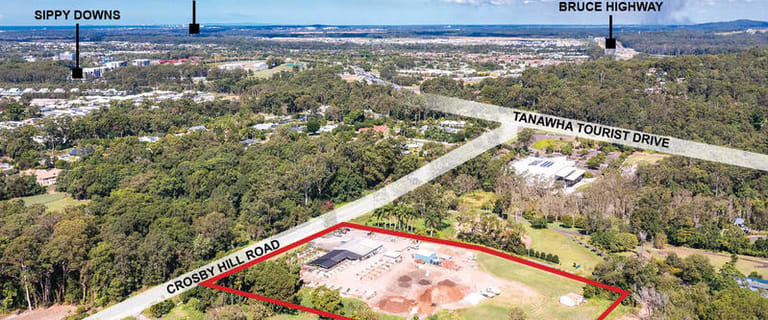Showrooms / Bulky Goods commercial property for sale at 168-182 Crosby Hill Road Tanawha QLD 4556