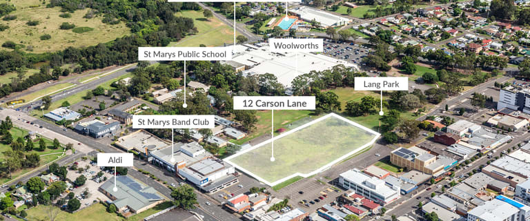 Development / Land commercial property for sale at 12 Carson Lane St Marys NSW 2760